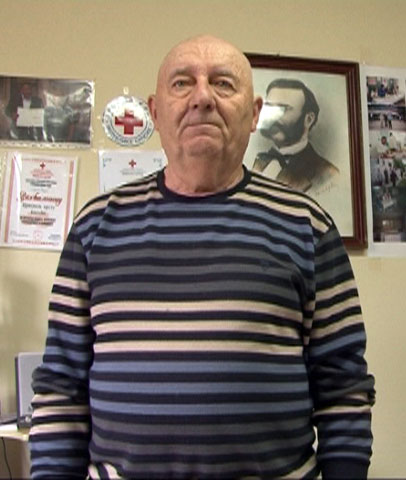 Драго Шаренац, хуманитарац и добровољни давалац крви из Билеће