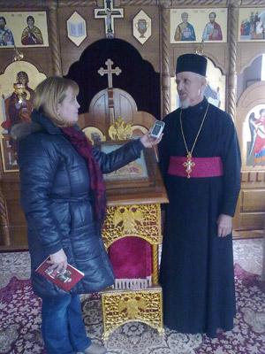 Разговор са игуманом манастира Моштаница оцем Василијем