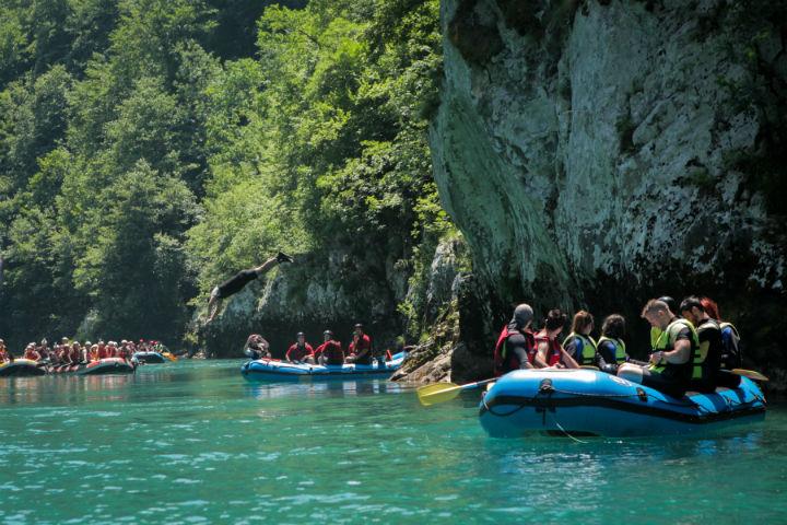 Rafting na rijeci Tari (foto: OK Fest)