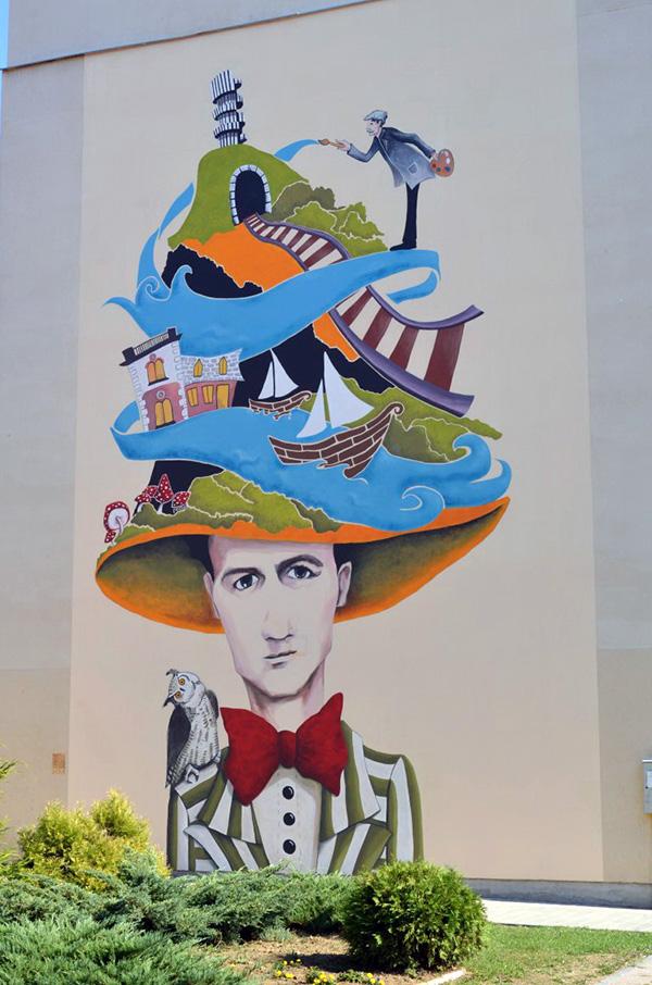 Prijedor uskoro dobija novi mural foto for Mural u vukovarskoj ulici