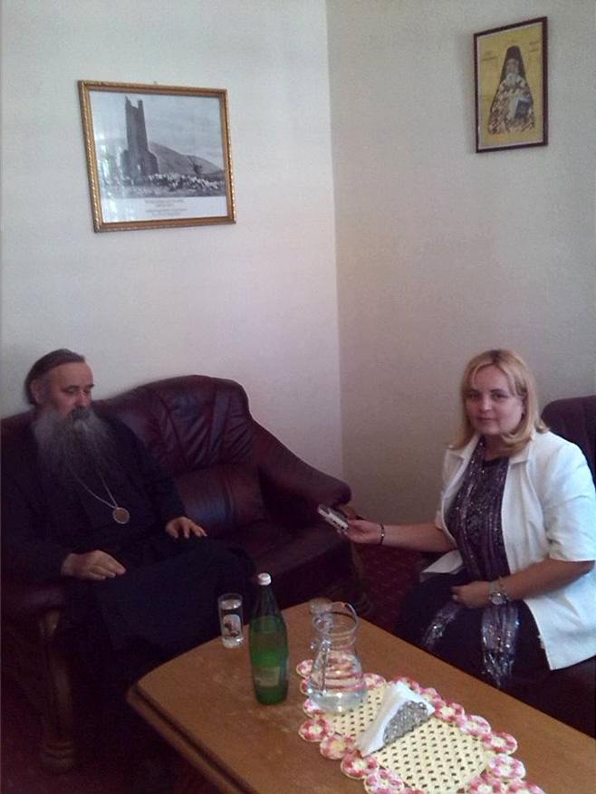 Интервју са епископом далматинским Фотијем (Фото: РТРС)