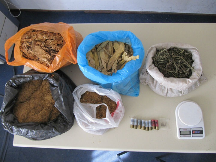 Doboj: Zaplijenjena droga (foto: RTRS)