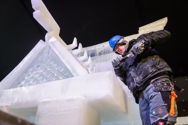 Белгија: Фестивал леда (фото: AP)
