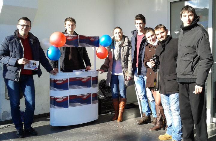 Акција младих СНСД-а у Власеници (фото: Срна)