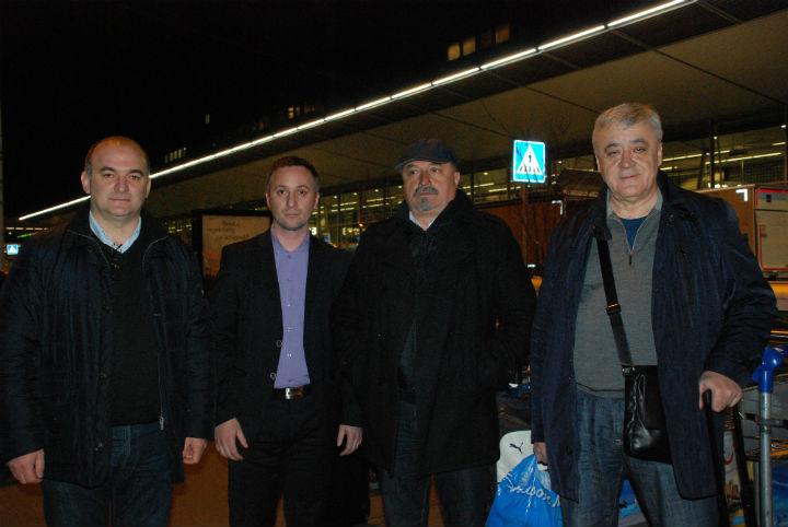 Маројевић, Којић, Петронијевић и Савчић (фото: Срна)
