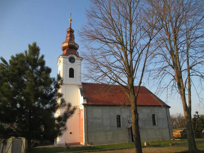 Црква Светог Николе у Јагодњаку код Осијека... (Фото: РТРС)