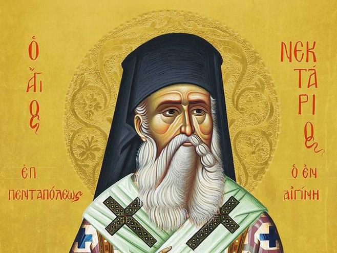 Икона Светог Нектарија...