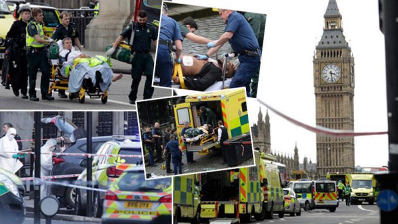 Терористички напад у Лондону (Фото: Tanjug/AP)