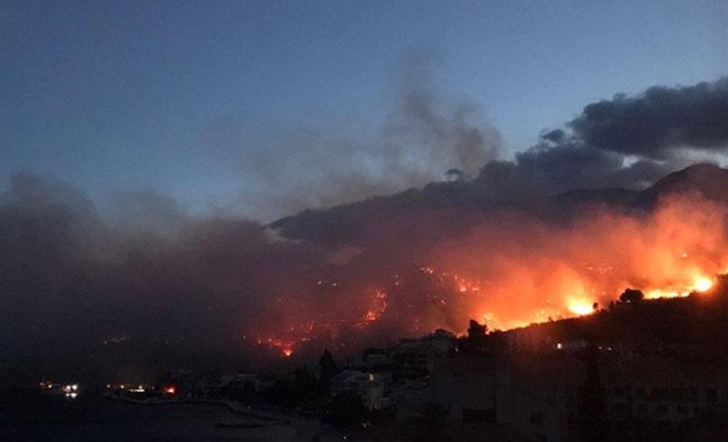 Пожар у Макарској