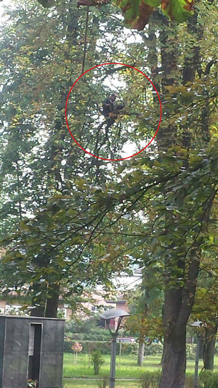 Теслић - мушкарац пријети самоубиством (Фото: Фејсбук/Дневна доза Добоја)