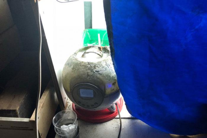 Бањалука: Пронађена импровизована лабораторија за узгој марихуане (Фото: РТРС)