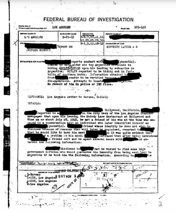 Извјештај ФБИ (Фото: FBI)