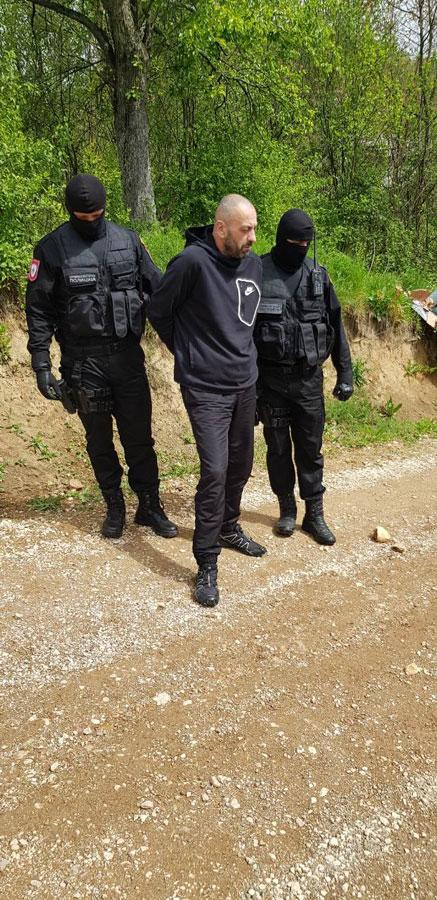 Hapšenje Balde