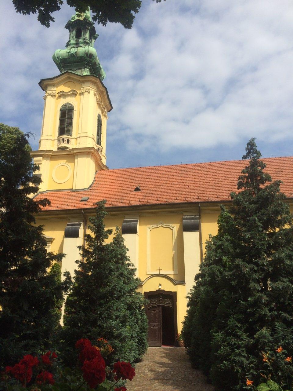 Српска православна црква Светог Георгија у Будимпешти (Фото: РТРС)