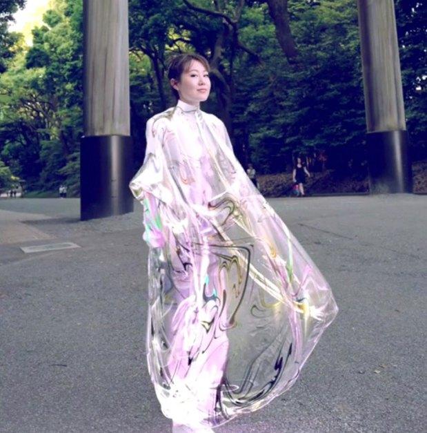 Virtuelna haljina (Foto Instagram @ the_fab_ric_ant)