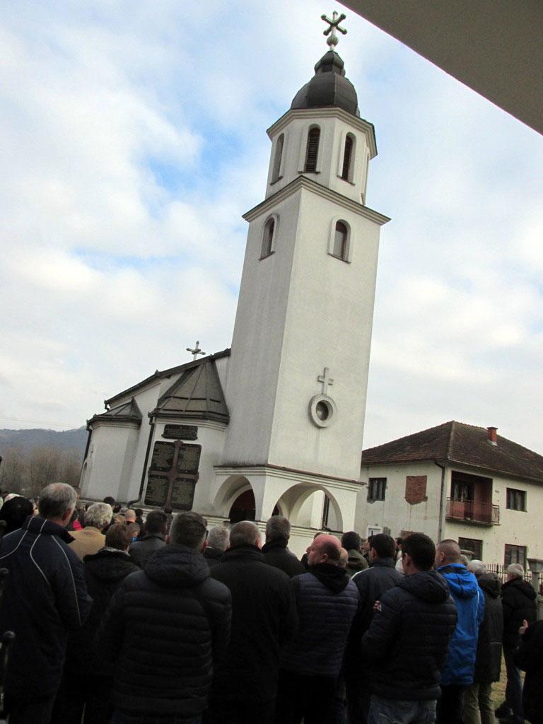 Служен парастос за 109 убијених Срба из Бјеловца, Фото: Срна