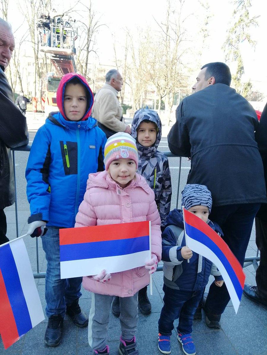 И најмлађи обиљежавају Дан Републике (Фото: Јелена Вујичић)