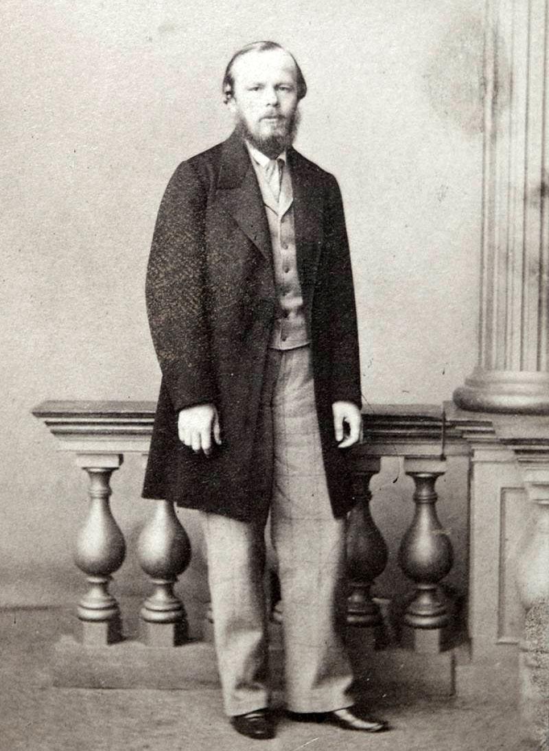 Dostojevski 1861. godine (foto: M.B. Tulinova)