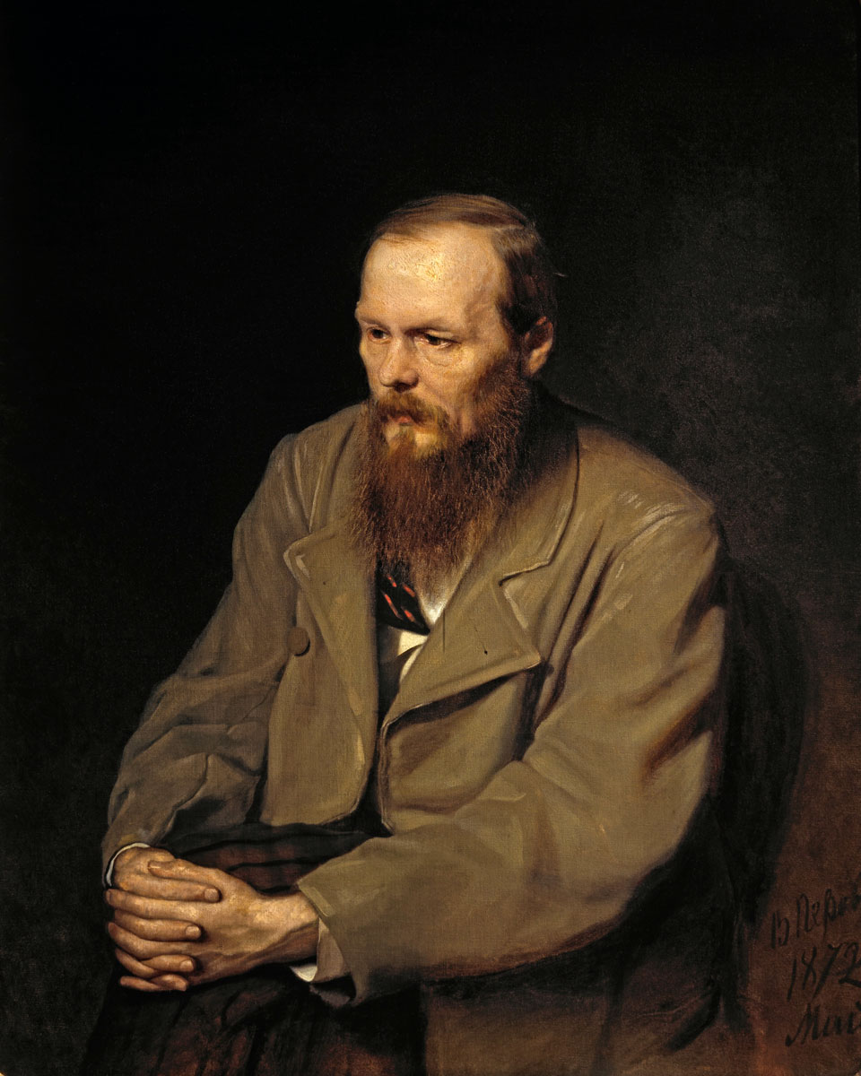 Portret Dostojevskog (slikao: Vasíliй Grigórьevič Peróv)