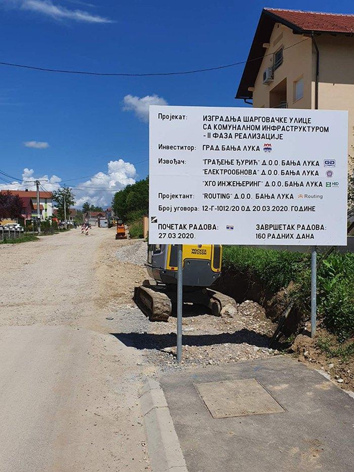 Šargovačka ulica (Foto: banjaluka.net)