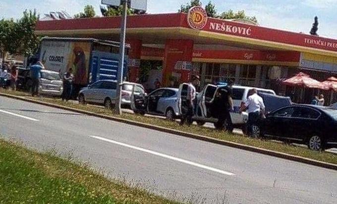 Судар шест аутомобила на западном транзиту у Бањалуци (Фото: АТВ)