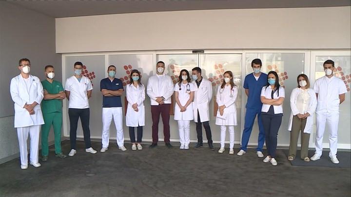 Mladi ljekari UKC Srpske (Foto: RTRS)