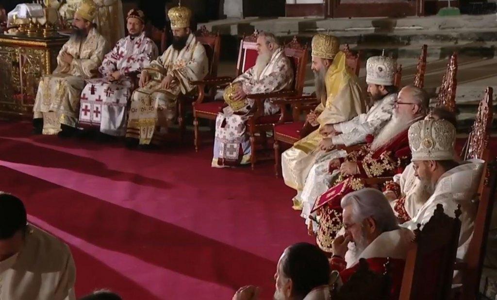 Hram: Liturgija upokojenom patrijarhu Irineju - vladike (Foto: Screenshot )