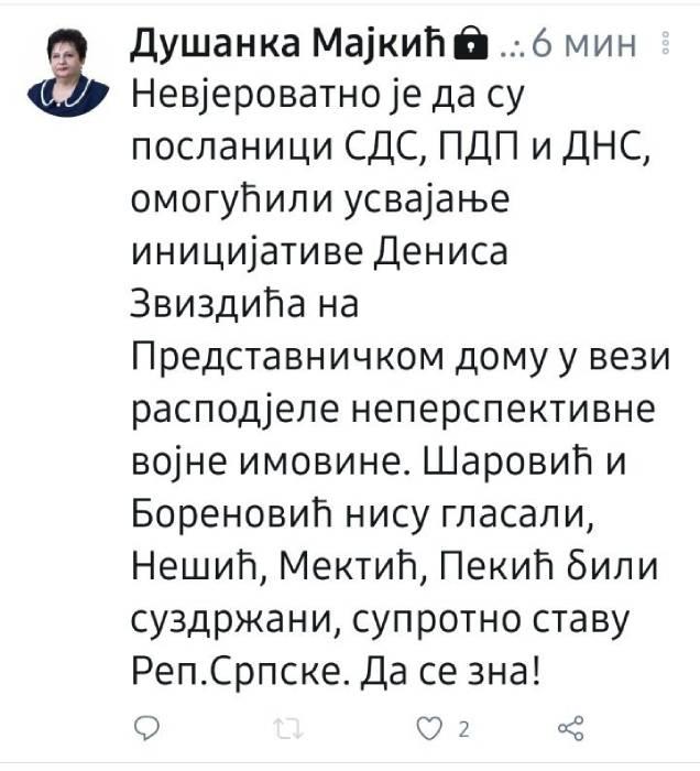 Душанка Мајкић (фото: АТВ)