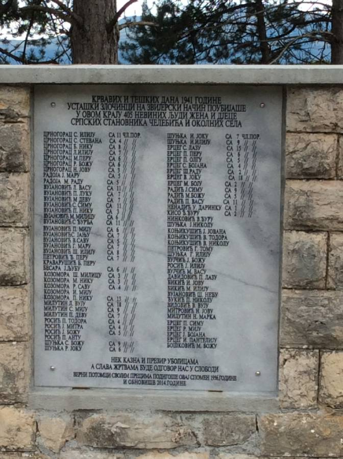 Спомен плоча прије оскрављења (фото: omlivanjska.com)