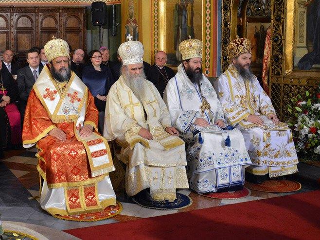 Устоличење митрополита загребачко-љубљанског Порфирија