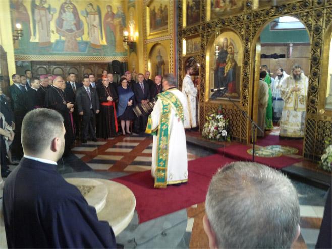 Свечаност поводом устоличења митрополита Порфирија