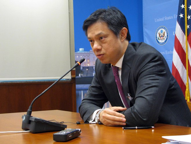 Замјеник помоћника државног секретара САД-а Брајан Хојт Ји - Фото: СРНА