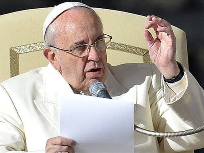 Папа Фрањо - Фото: AFP