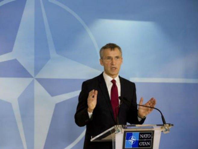 Generalni sekretar NATO Jens Stoltenberg - Foto: AP