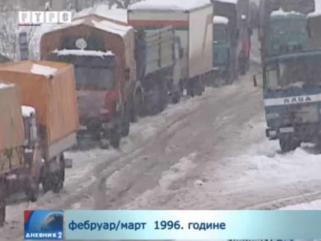 Сјећање на егзодус сарајевских Срба - Фото: РТРС
