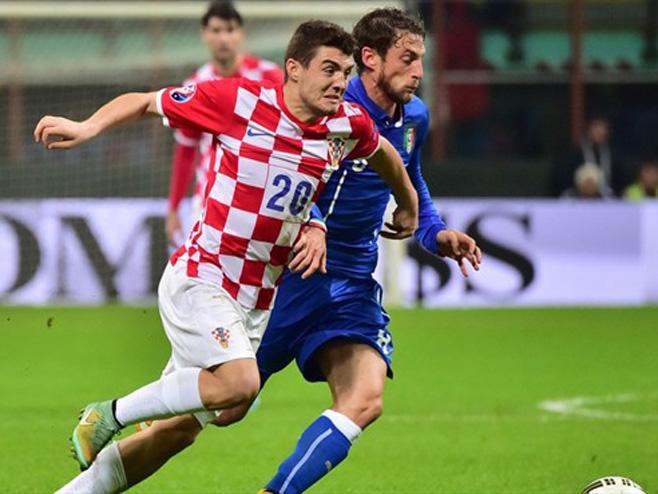 Италија - Хрватска (ФОТО: AFP/Getty images)