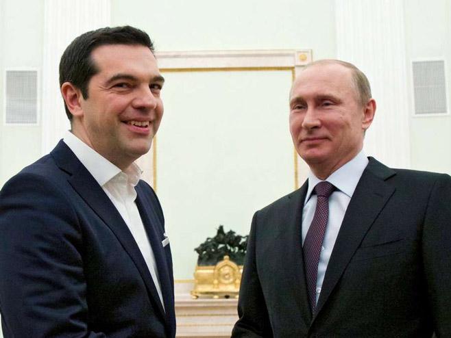 Cipras i Putin - Foto: B92