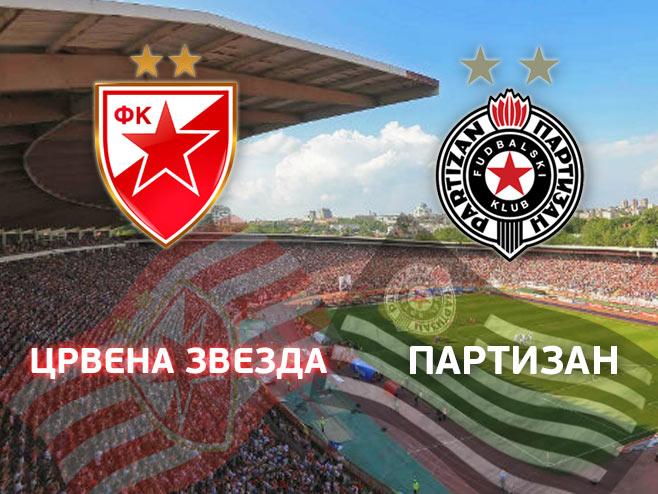 Vječiti derbi: Crvena Zvezda - Partizan (ilustracija: RTRS) -