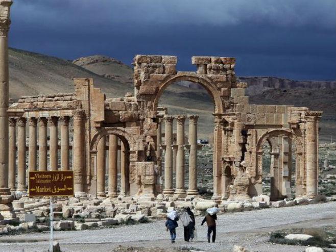 Сирија, Палмира (photo: Twitter) -
