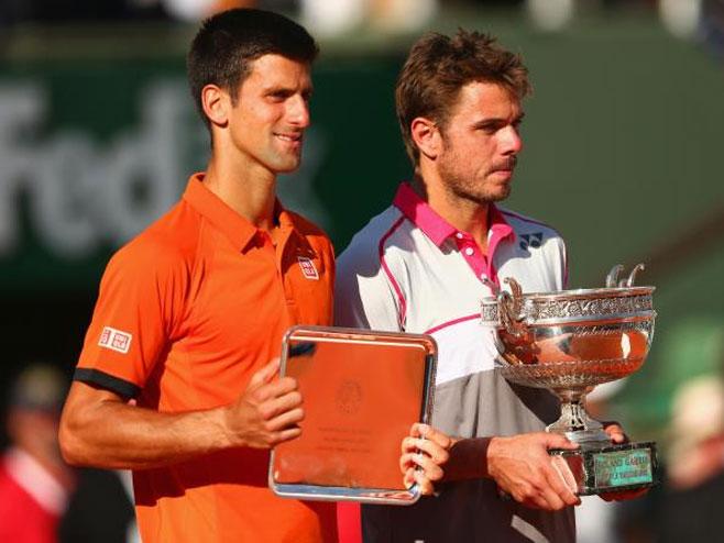 Novak Đoković, Stan Vavrinka - Foto: Getty Images