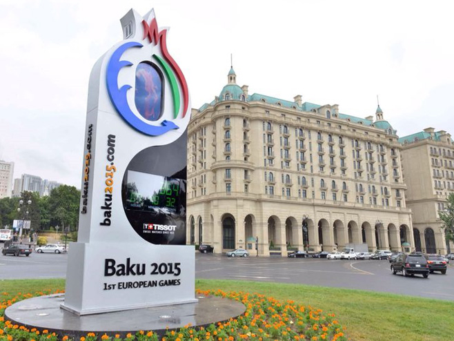 Evropske ige u Bakuu (FOTO: wmpoweruser.com) -