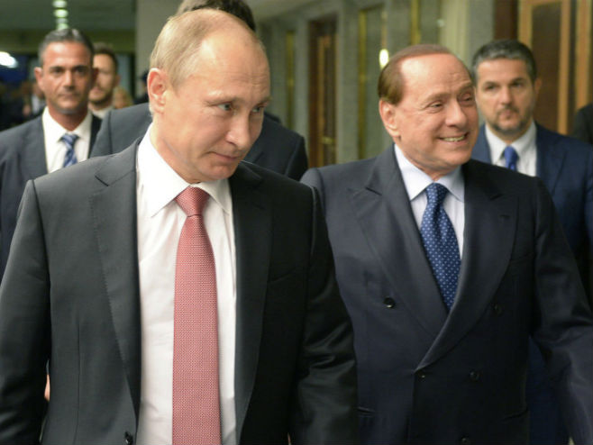 Putin i Berluskoni (photo: © Sputnik/ Aleksey Nikolskyi) -