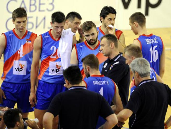 Odbojkaši Srbije (FOTO: MN Press) -