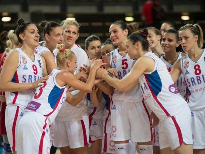 Košarkašice Srbije - Foto: Beta/AP