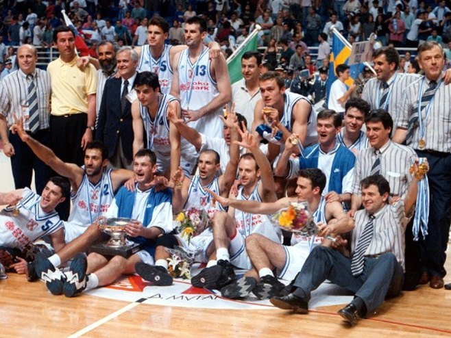 Jugoslavija - šampion Evrope 1995. godine (FOTO: rs.n1info.com) -