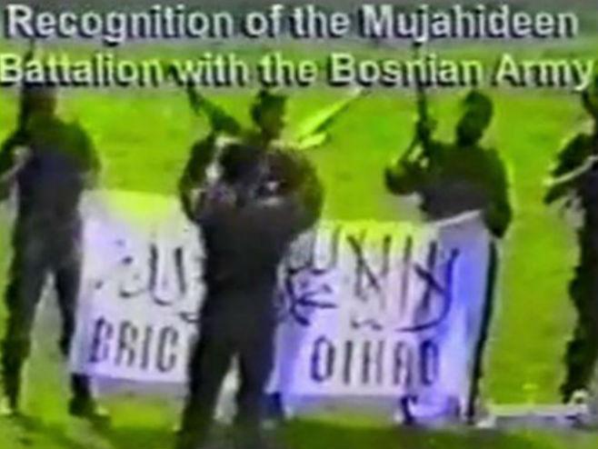Муџахедини у тзв. Армији БиХ (photo: bbc.com) -