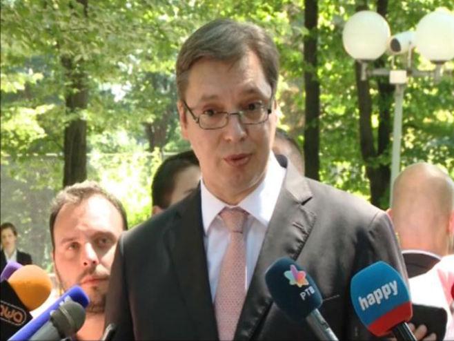 Aleksandar Vučić - Foto: Screenshot