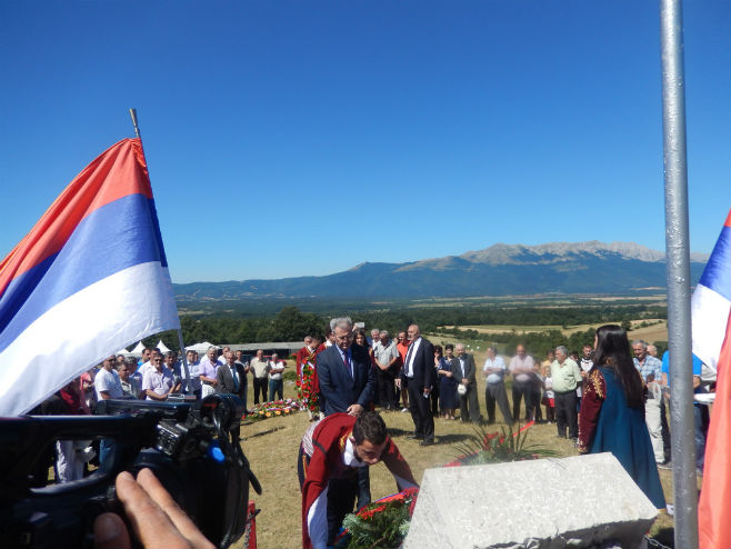 """Ministar Savanović na obilježavanju """"Nevesinjske puške"""" - Foto: SRNA"""