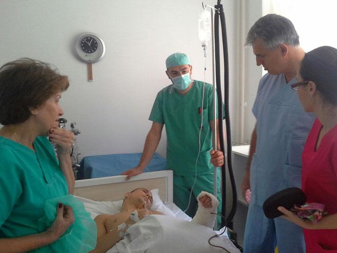 Фоча: Успјешно изведена компликована операција тумора - Фото: СРНА