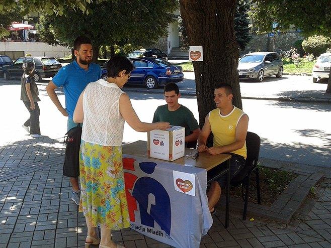 Foča - humanitarna akcija